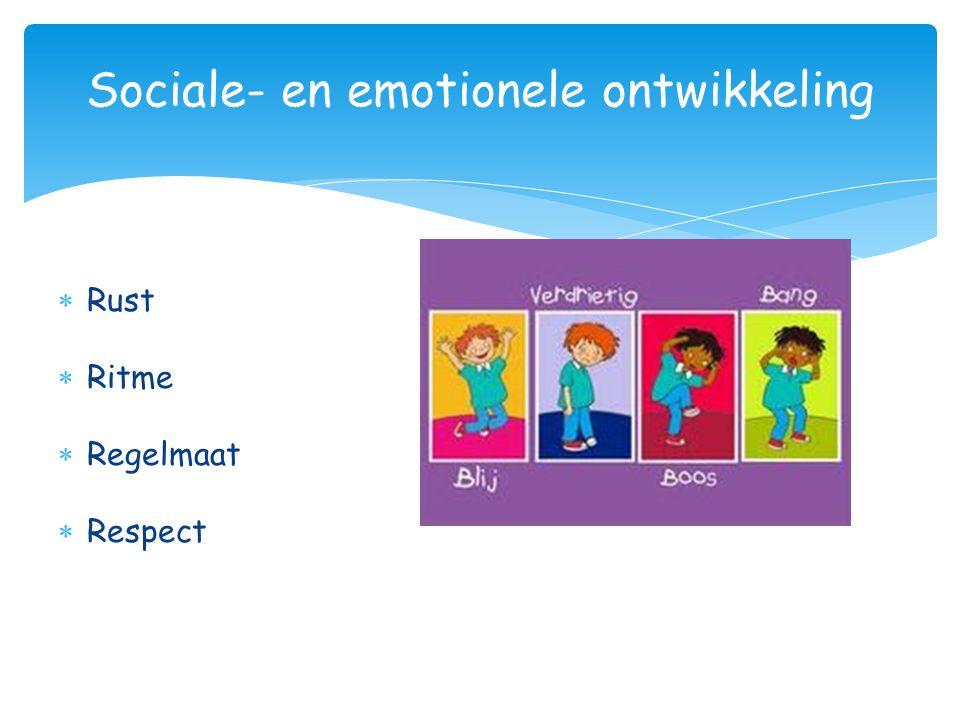 Sociale- en emotionele ontwikkeling