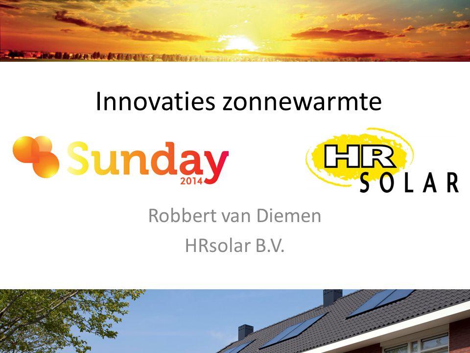 Innovaties zonnewarmte