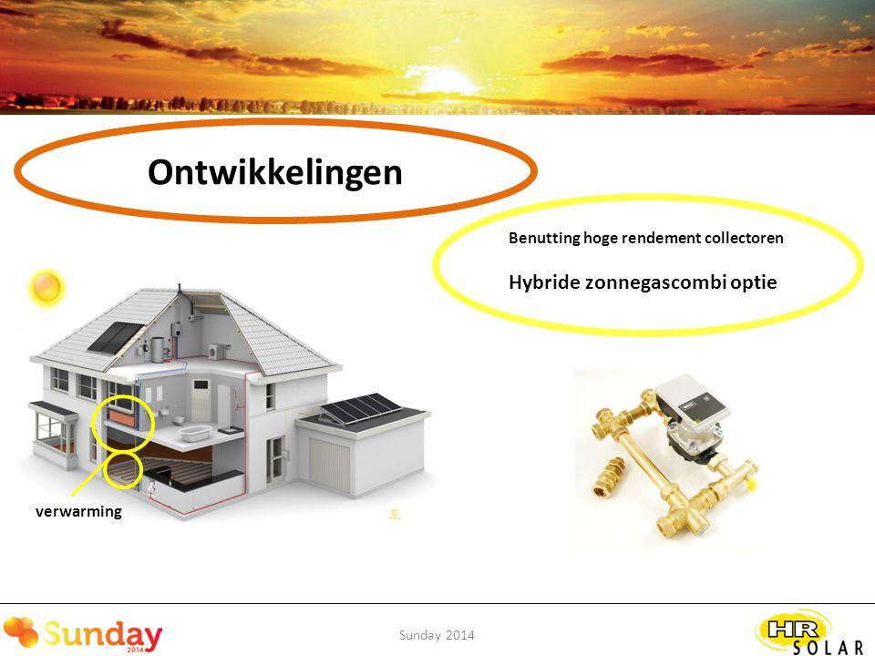 Ontwikkelingen Hybride zonnegascombi optie