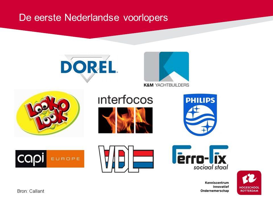 De eerste Nederlandse voorlopers