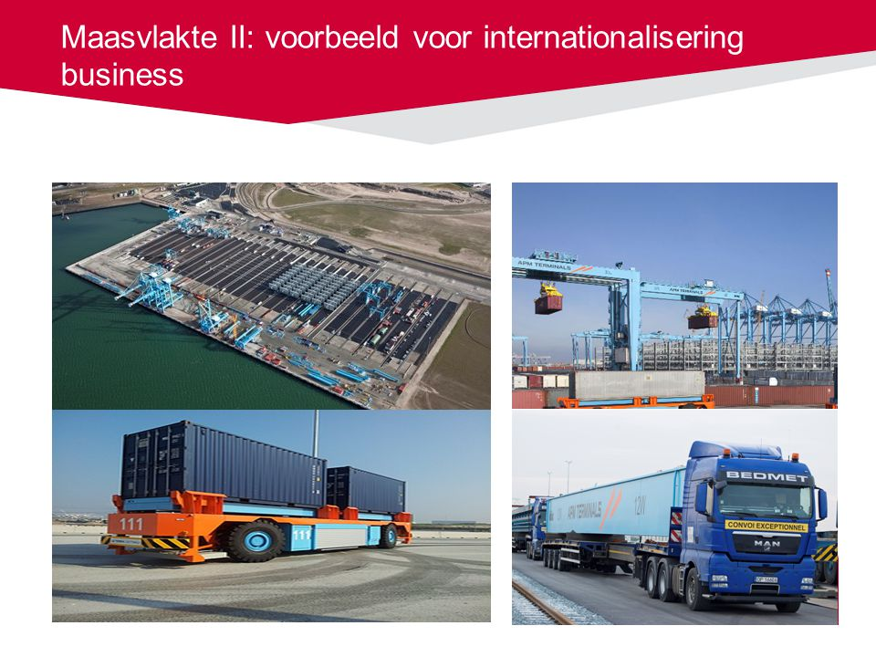 Maasvlakte II: voorbeeld voor internationalisering business