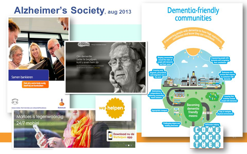 Alzheimer's Society, aug 2013