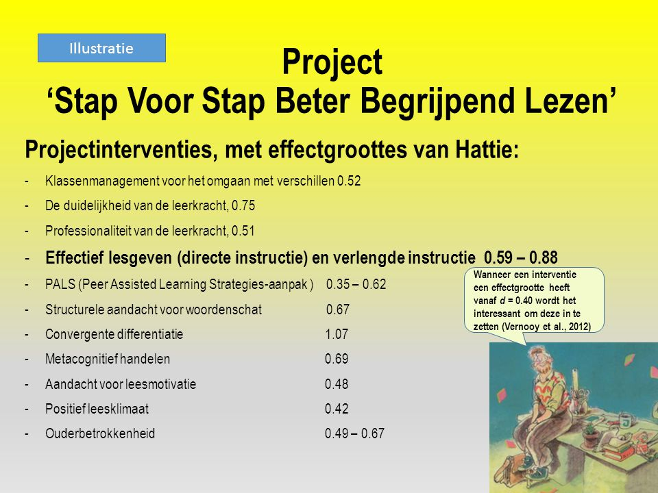 Project 'Stap Voor Stap Beter Begrijpend Lezen'