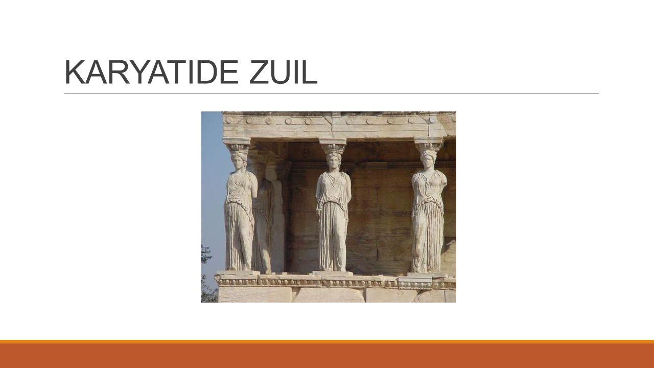 KARYATIDE ZUIL
