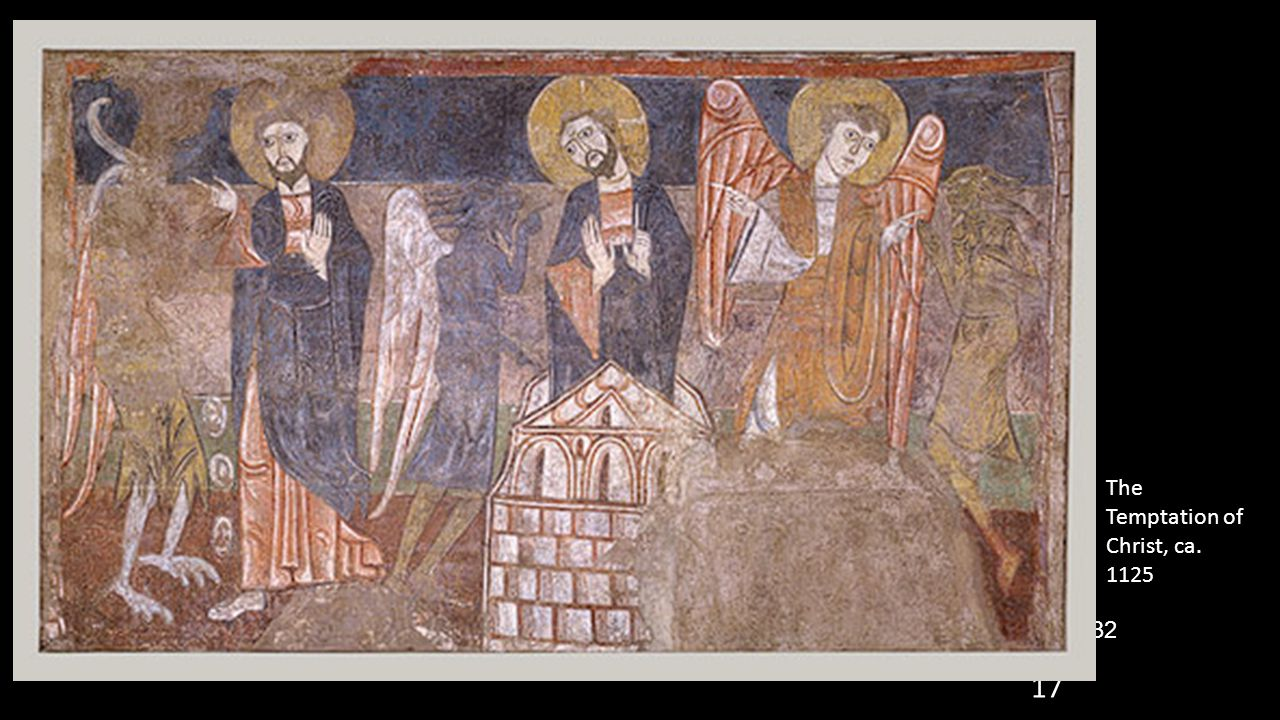 The Temptation of Christ, ca. 1125