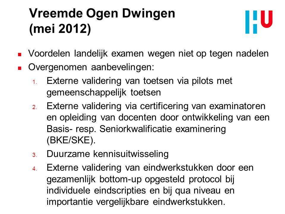 Vreemde Ogen Dwingen (mei 2012)