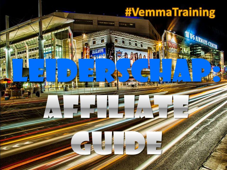 leIDERSCHAP: Affiliate Guide