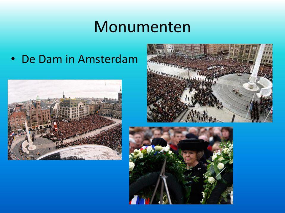 Monumenten De Dam in Amsterdam