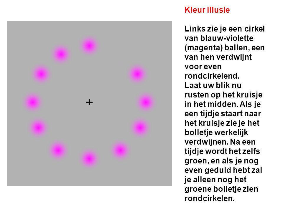 Kleur illusie