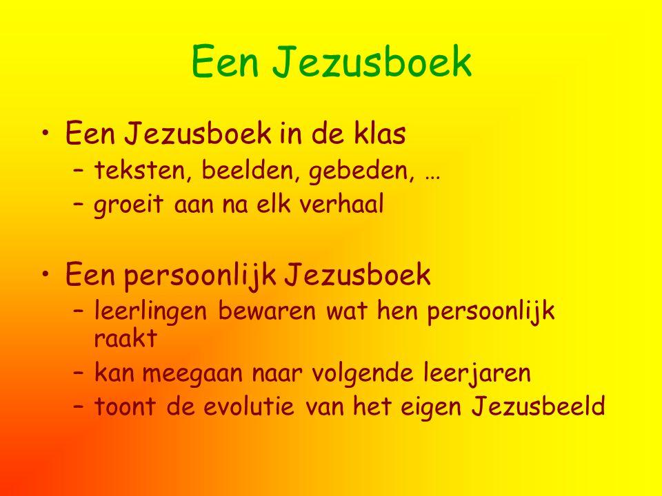 Een Jezusboek Een Jezusboek in de klas Een persoonlijk Jezusboek