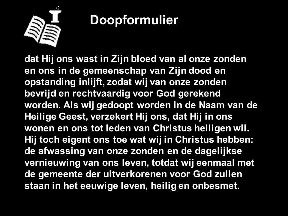Doopformulier