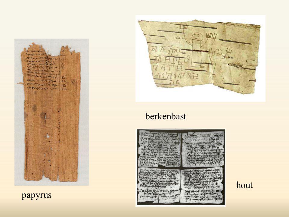 berkenbast hout papyrus