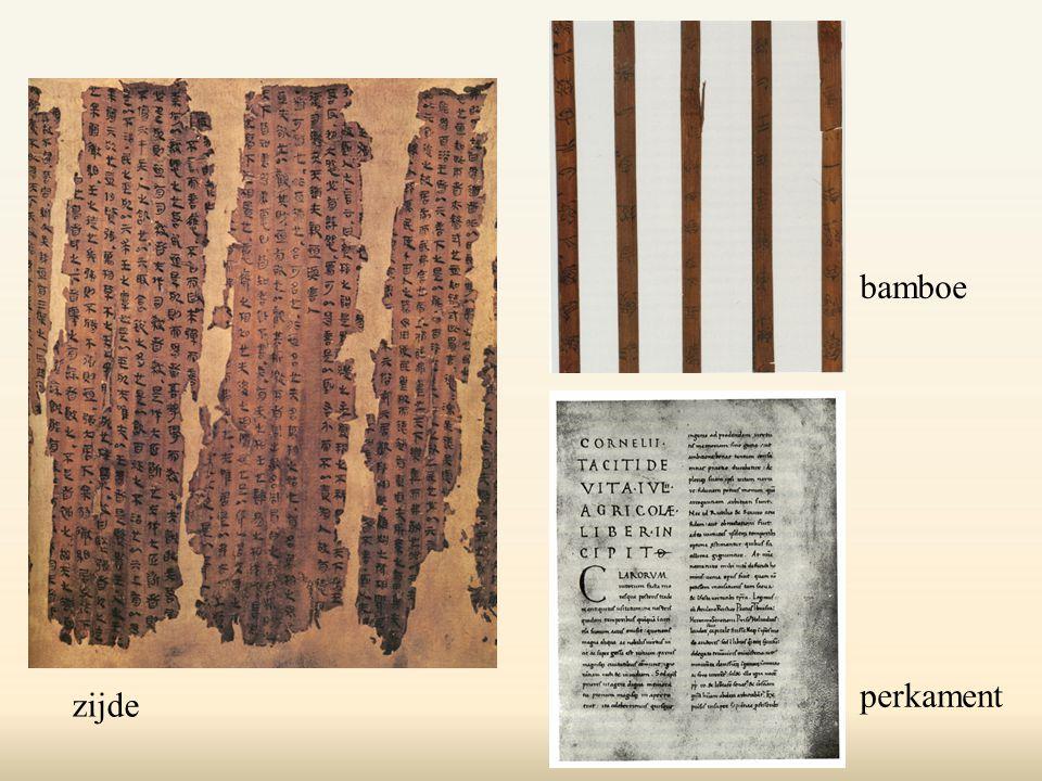 bamboe perkament zijde