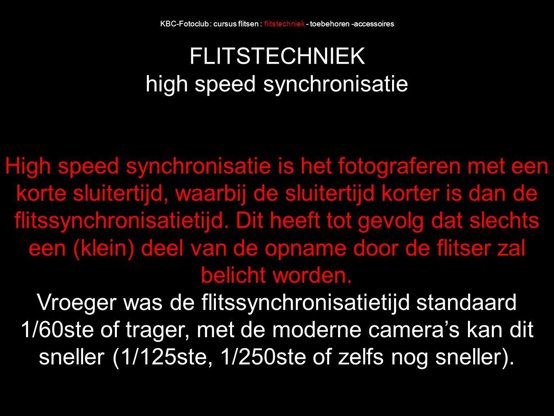 high speed synchronisatie