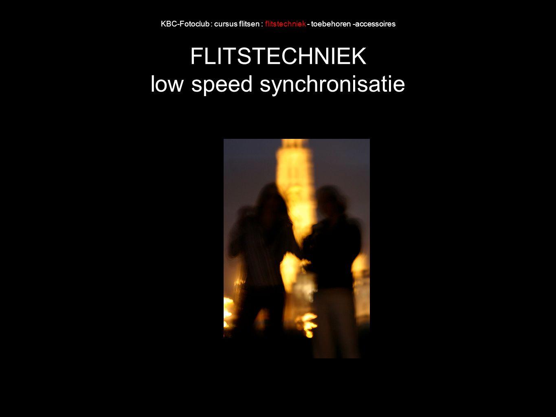 low speed synchronisatie