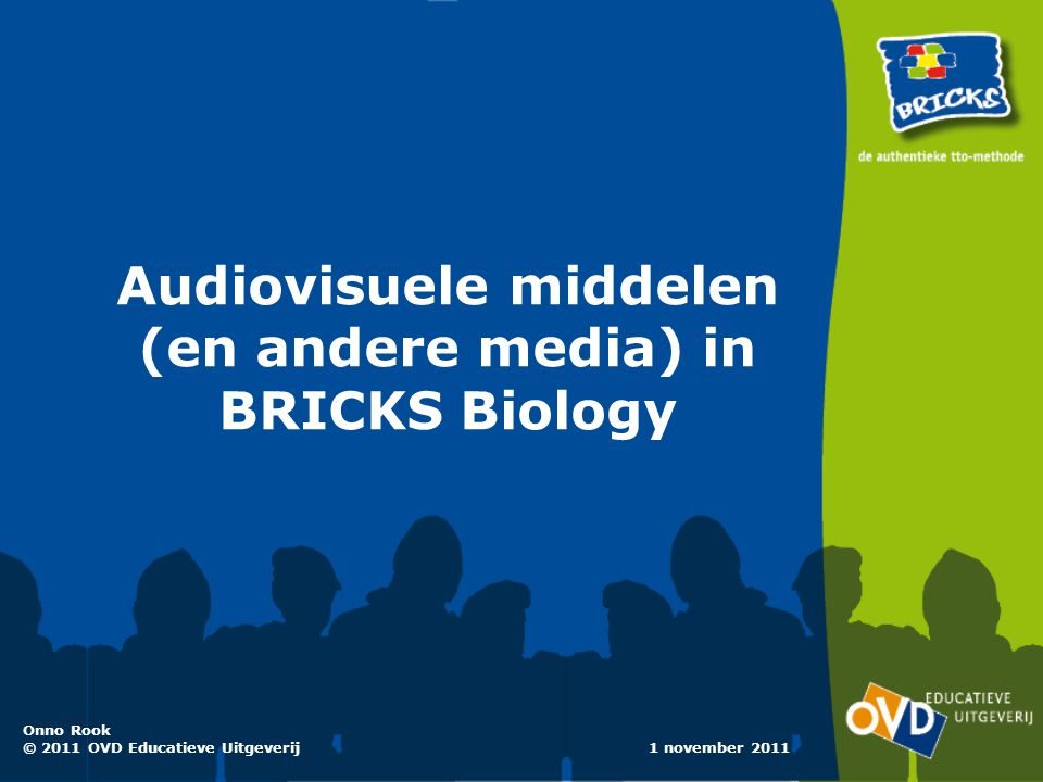 Audiovisuele middelen (en andere media) in BRICKS Biology