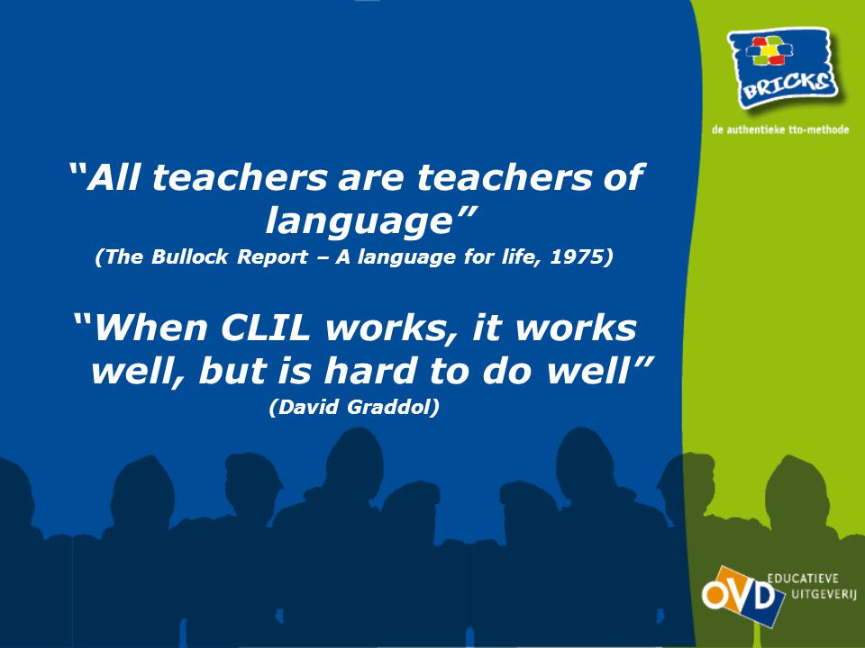 All teachers are teachers of language