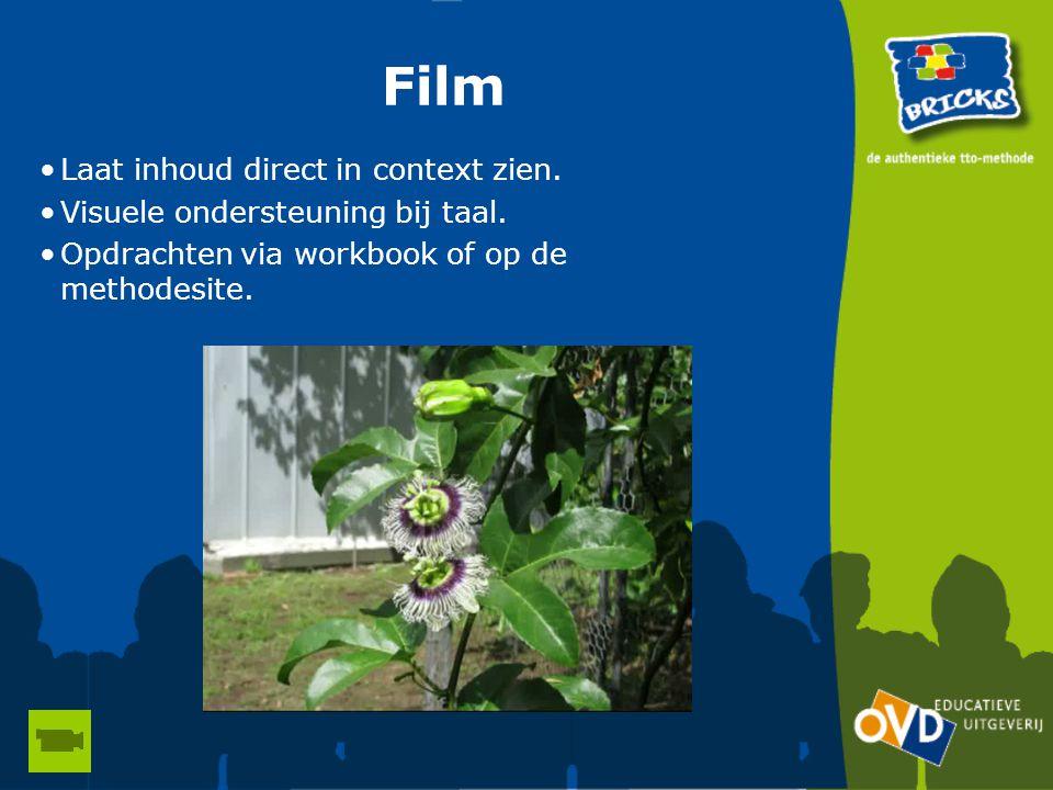 Film Laat inhoud direct in context zien.