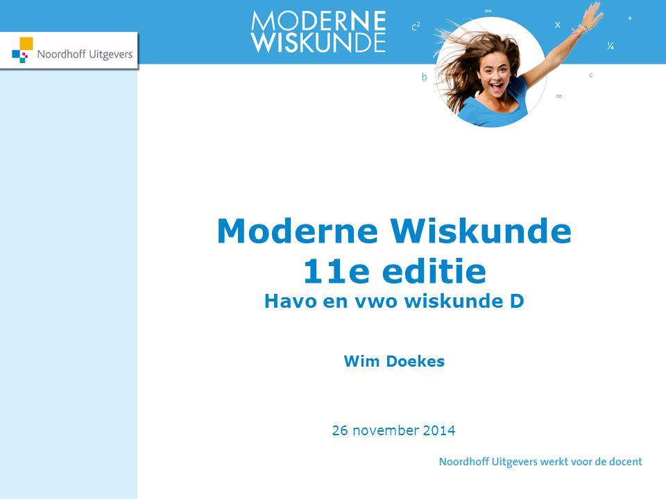 Havo en vwo wiskunde D Wim Doekes