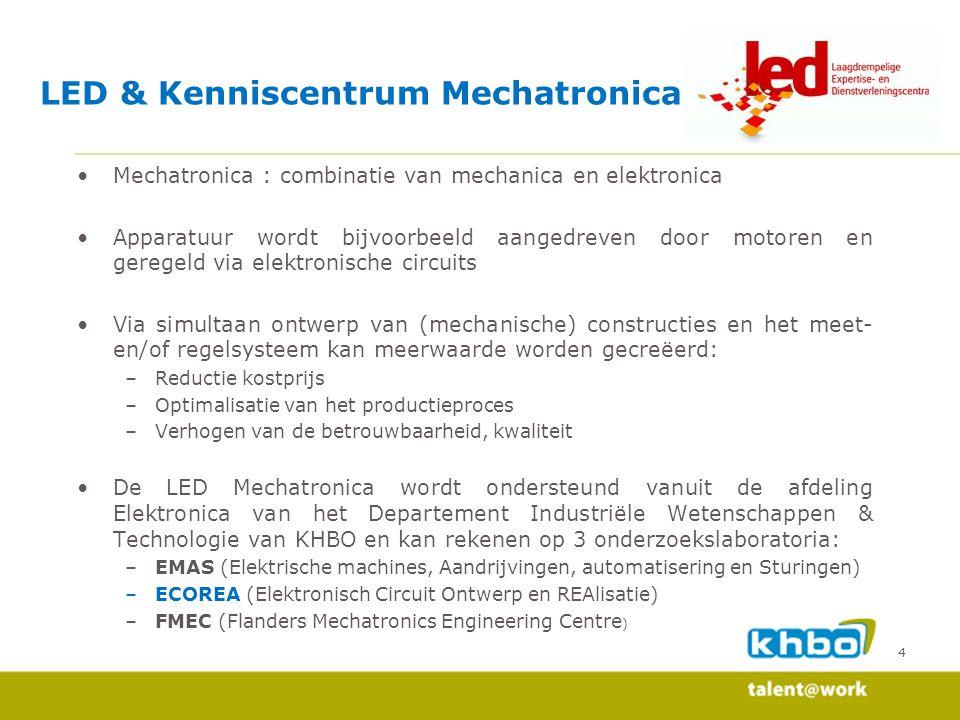 LED & Kenniscentrum Mechatronica