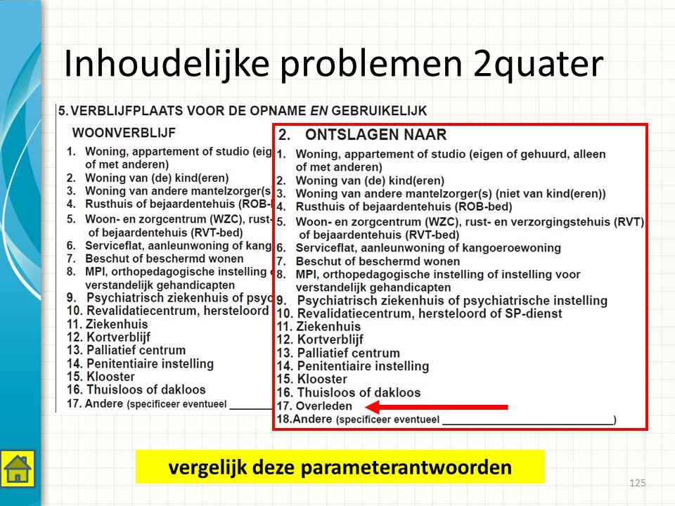 Inhoudelijke problemen 2quater