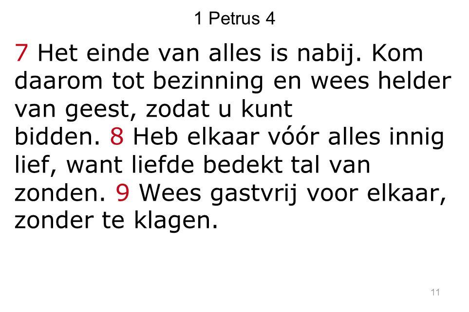 1 Petrus 4