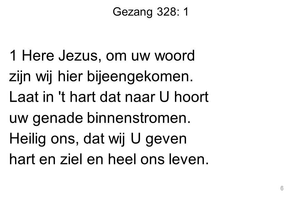 Gezang 328: 1