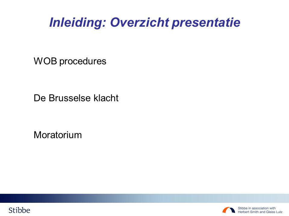Inleiding: Overzicht presentatie