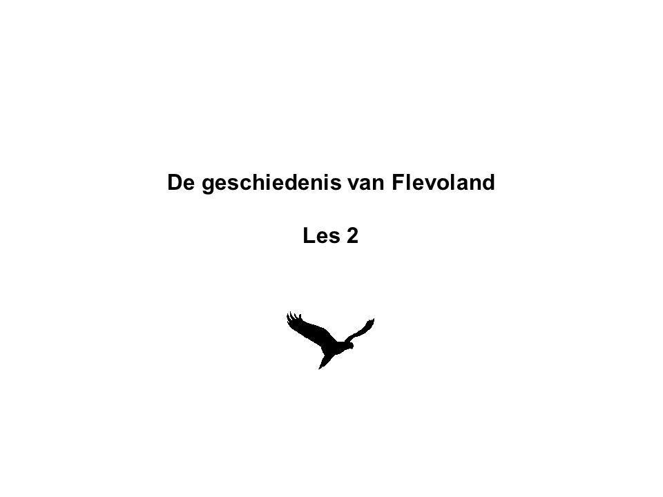De geschiedenis van Flevoland