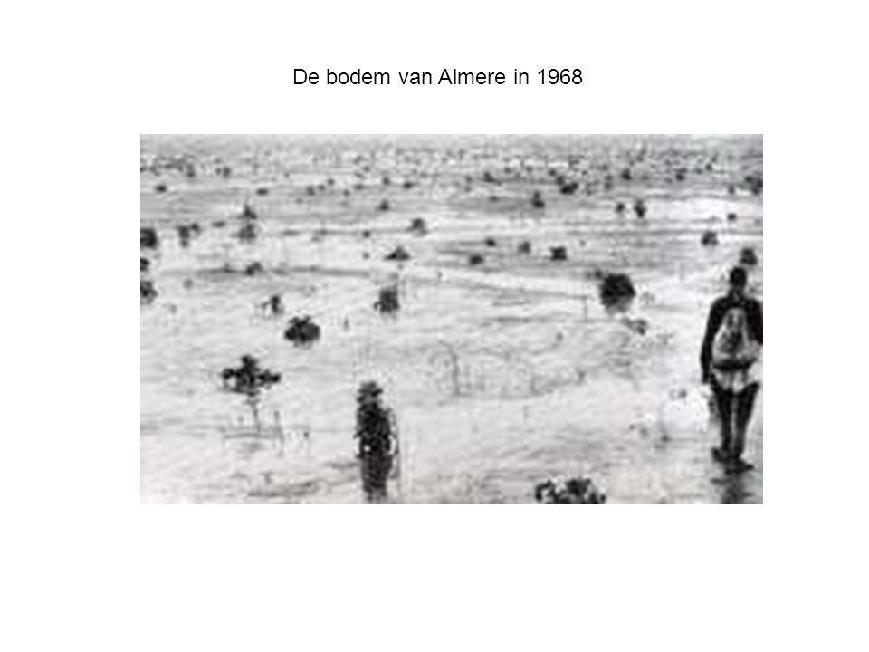 De bodem van Almere in 1968