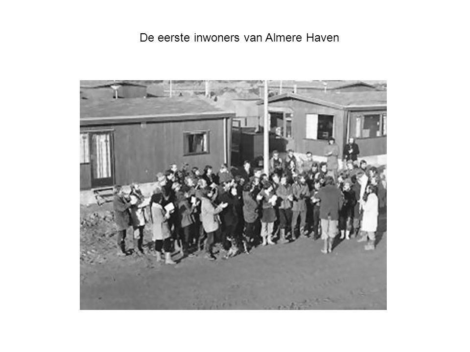 De eerste inwoners van Almere Haven