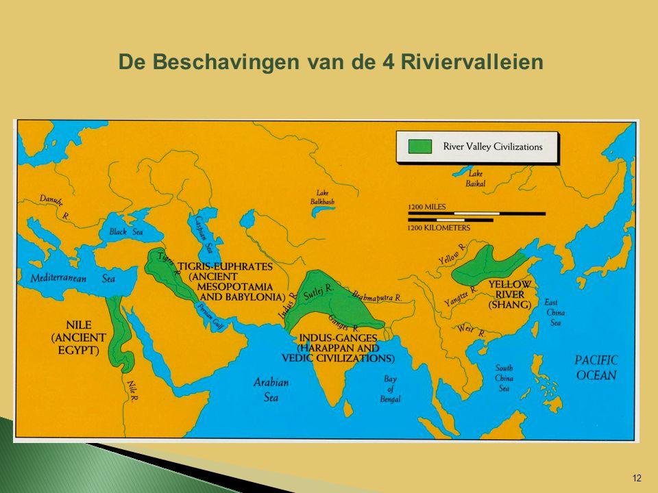 De Beschavingen van de 4 Riviervalleien