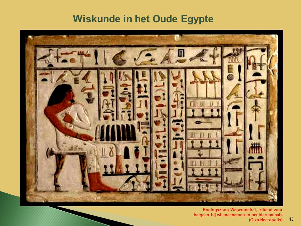 Wiskunde in het Oude Egypte
