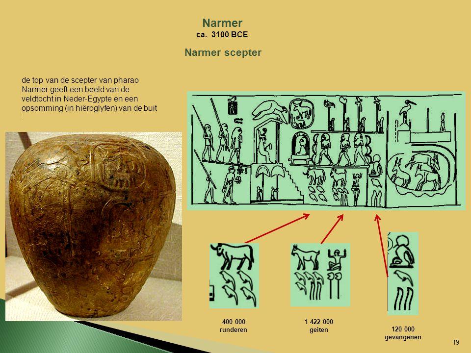 Narmer Narmer scepter ca. 3100 BCE