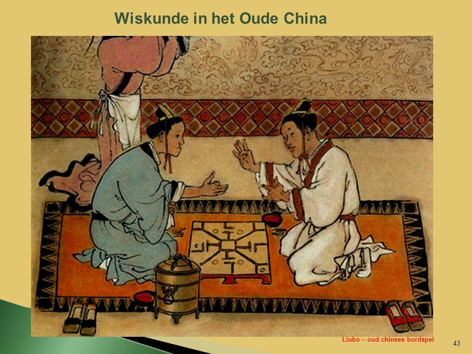 Wiskunde in het Oude China