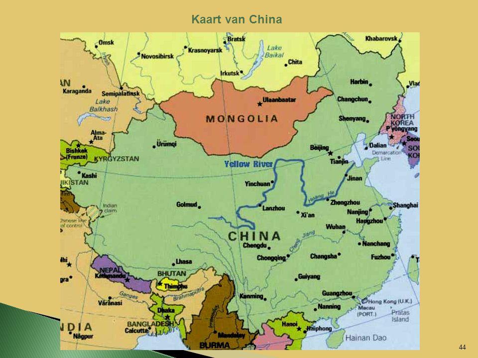 Kaart van China