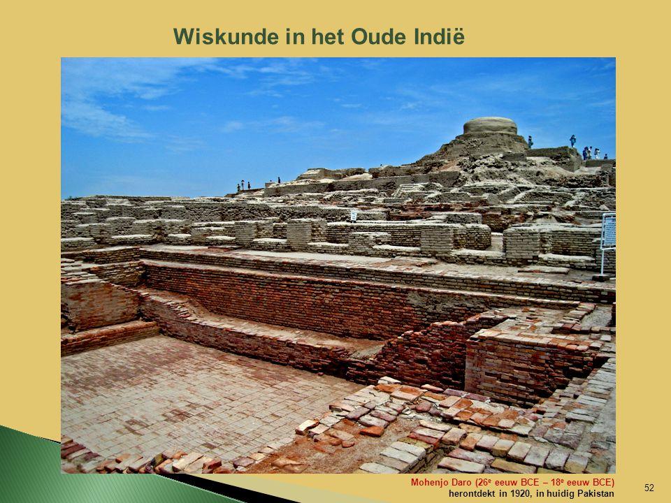 Wiskunde in het Oude Indië