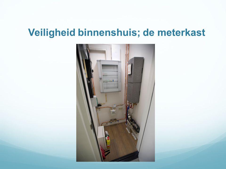 Veiligheid binnenshuis; de meterkast