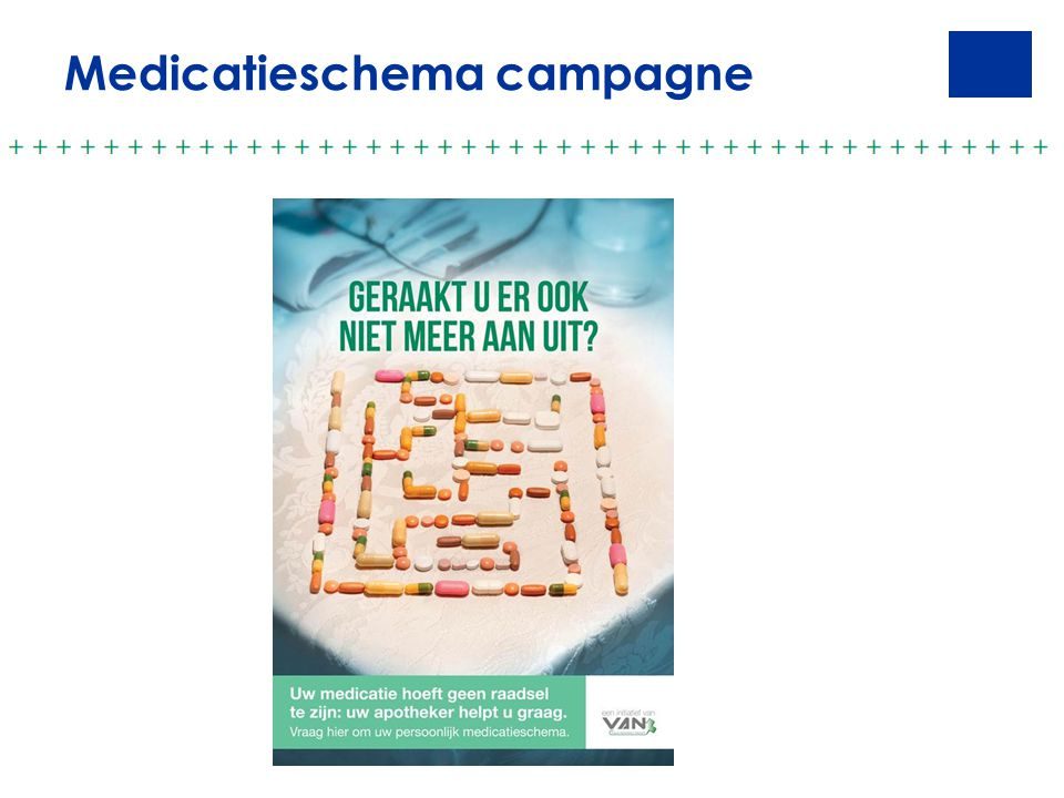 Medicatieschema campagne