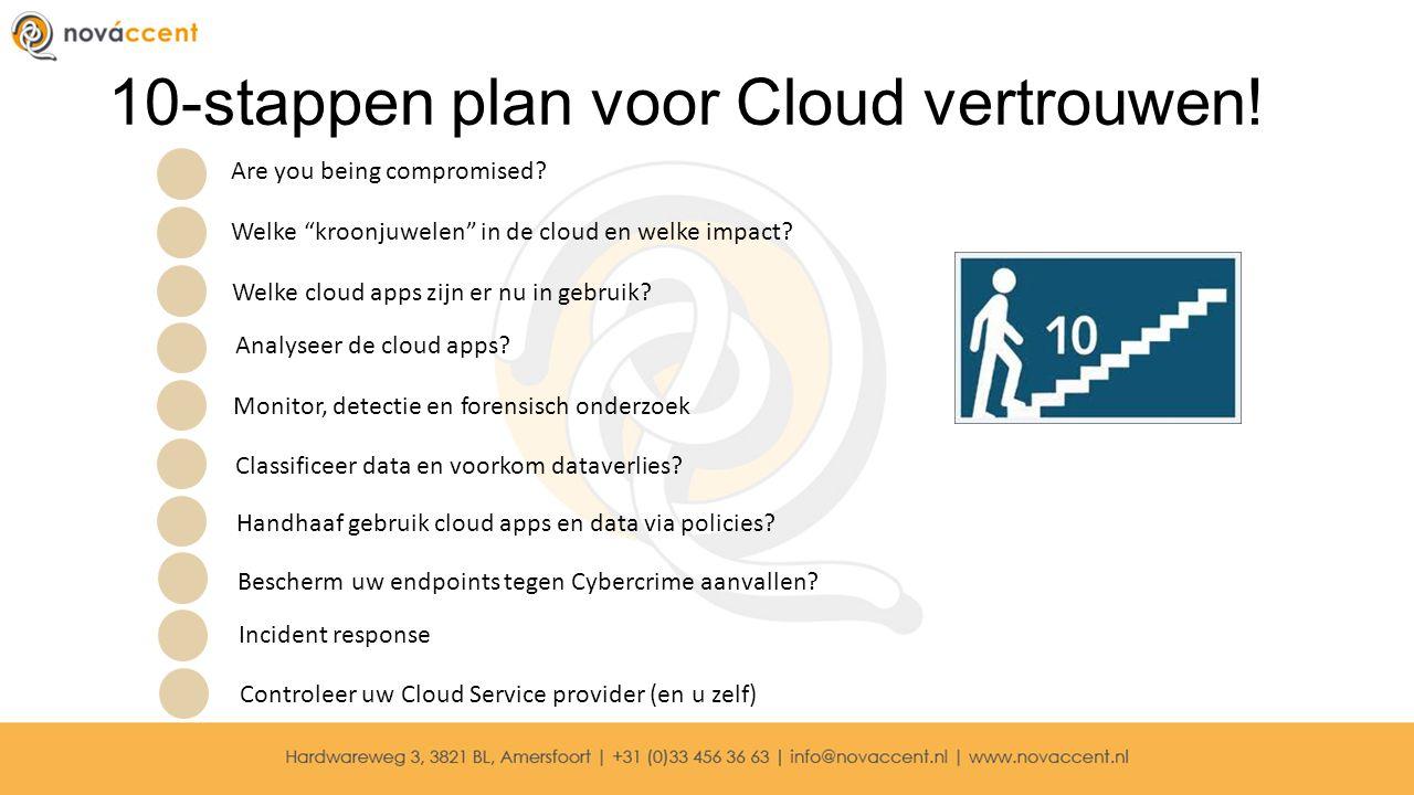10-stappen plan voor Cloud vertrouwen!