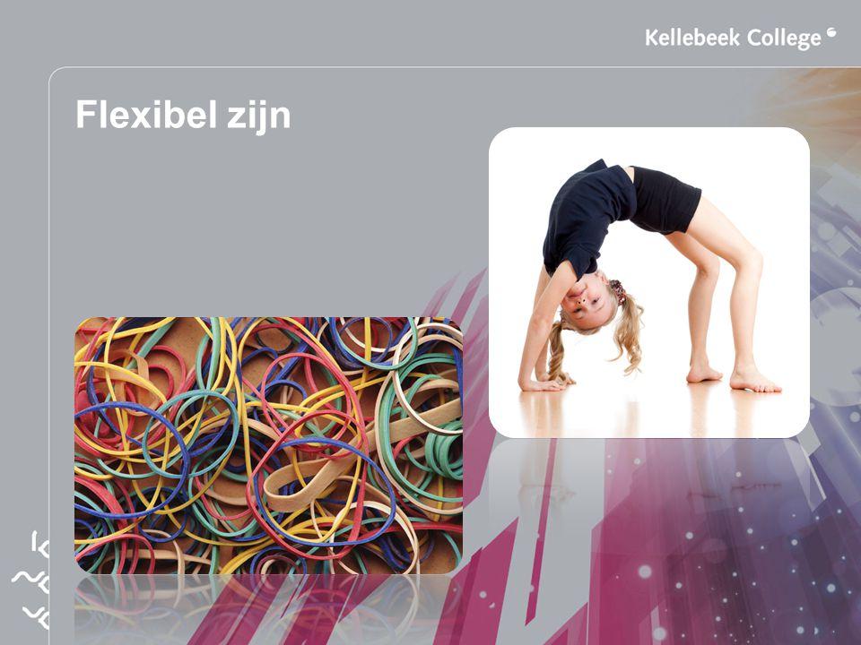 Flexibel zijn