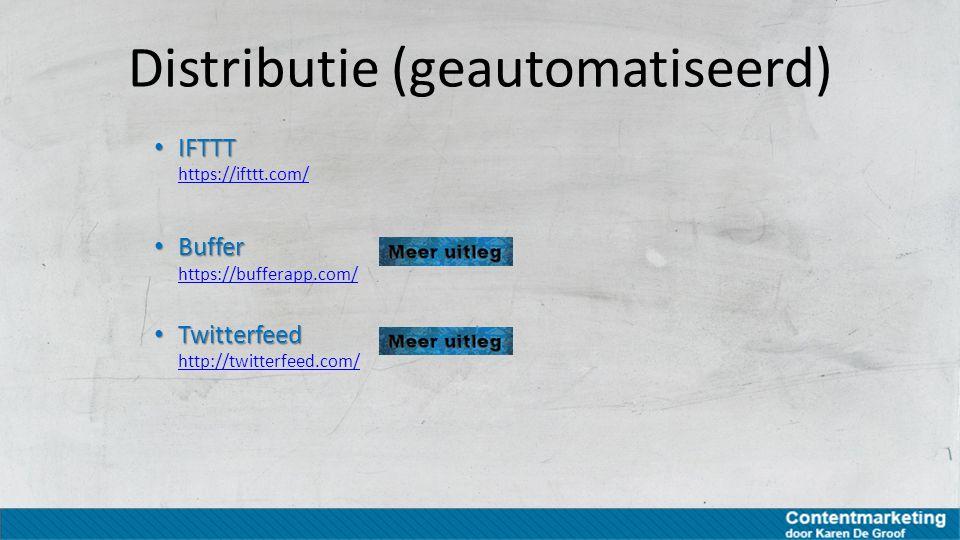 Distributie (geautomatiseerd)