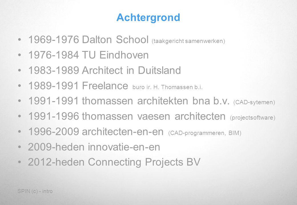 1969-1976 Dalton School (taakgericht samenwerken)