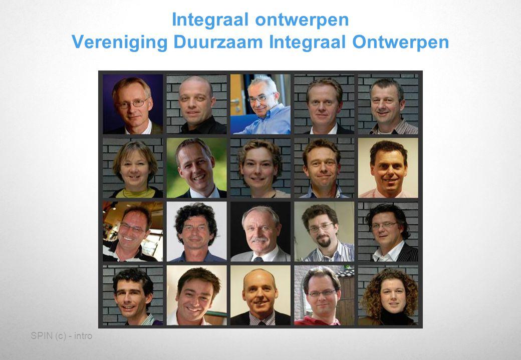 Integraal ontwerpen Vereniging Duurzaam Integraal Ontwerpen