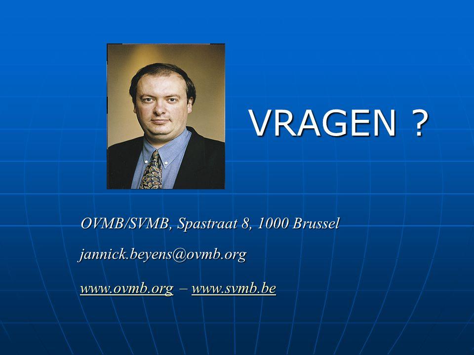 VRAGEN www.ovmb.org – www.svmb.be