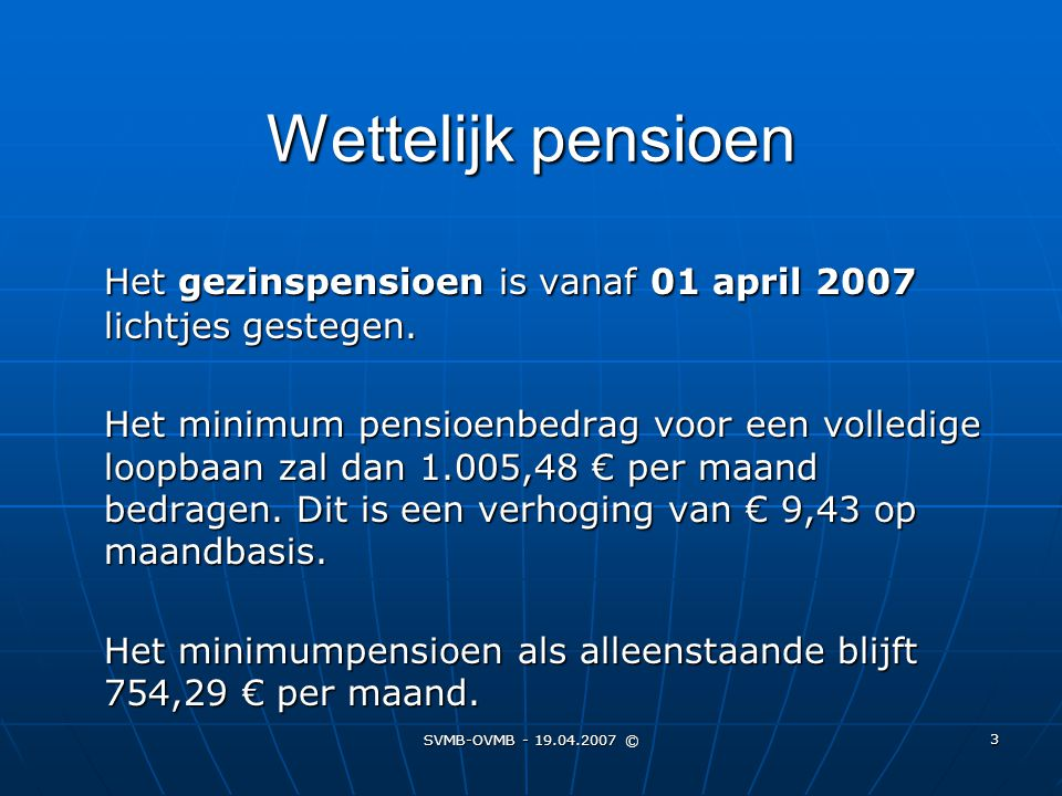 Wettelijk pensioen
