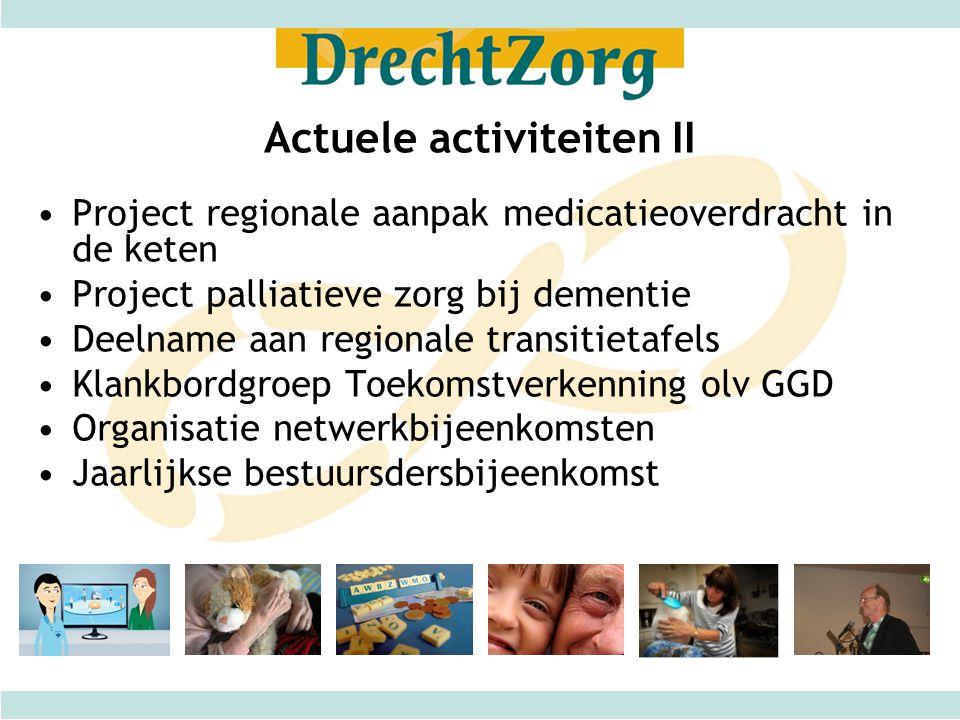 Actuele activiteiten II