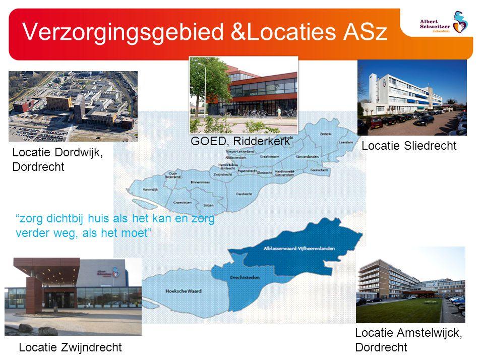 Verzorgingsgebied &Locaties ASz