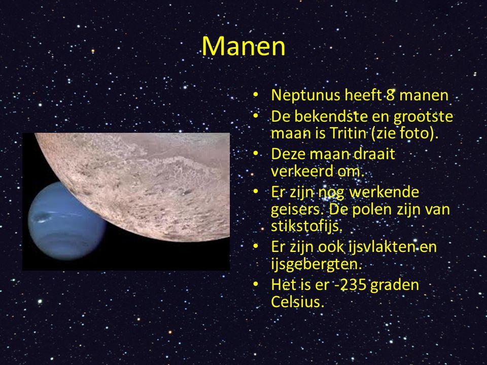 Manen Neptunus heeft 8 manen