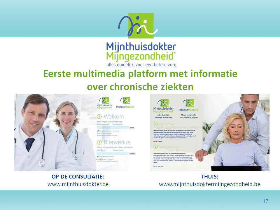 Eerste multimedia platform met informatie over chronische ziekten